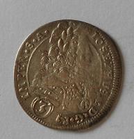 Čechy – Kutná Hora 3 Krejcar 1706 Josef I.