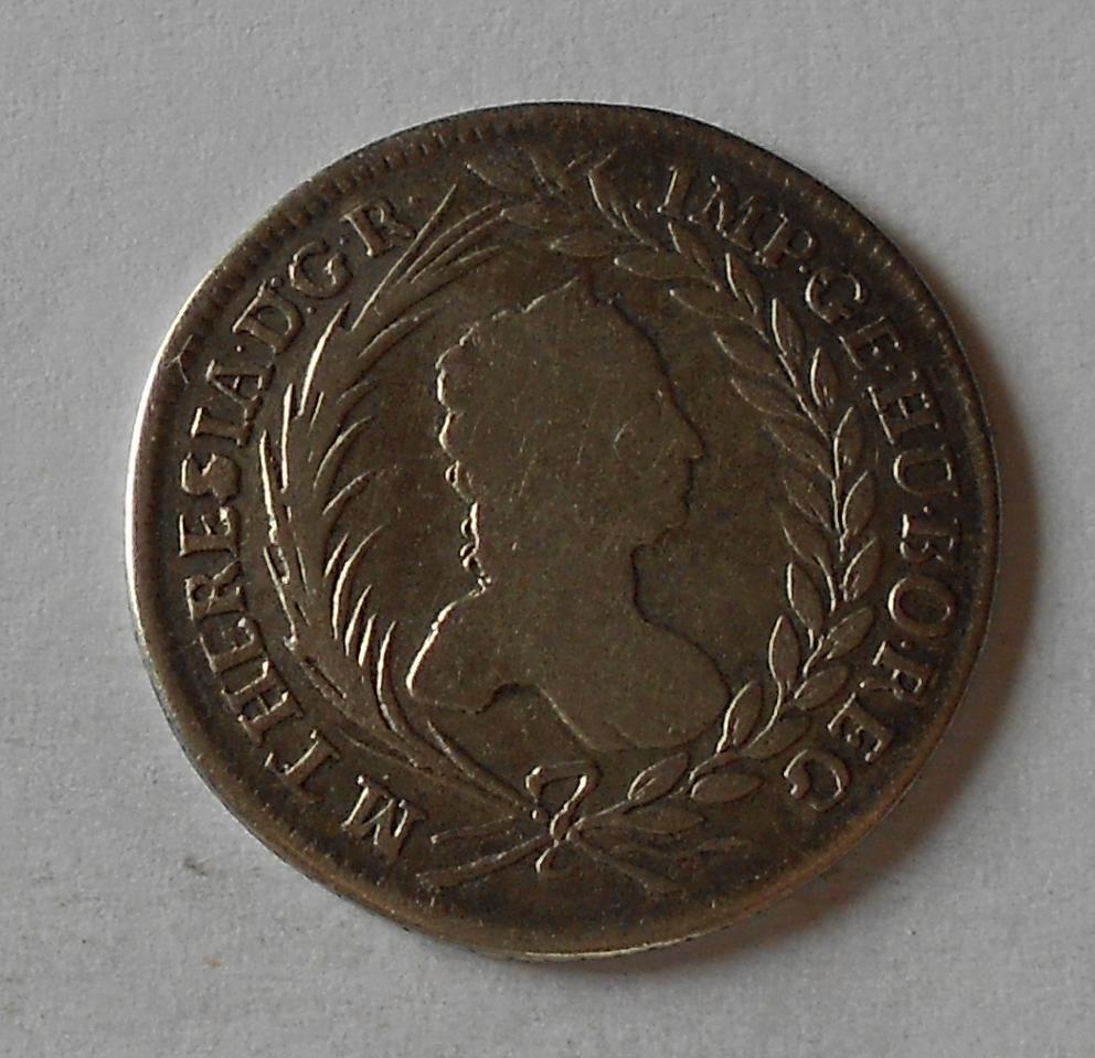 Čechy – Praha 20 Krejcar 1755 Marie Terezie