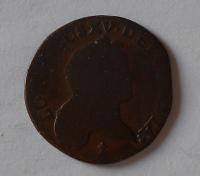 Francie 1/2 Sol 1721 S Ludvík XV.