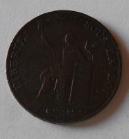 Francie – Monneron 2 Sol 1792