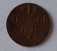 Frankfurt 1 Hetter 1821