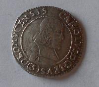 Olomouc arcibiskup. 3 Krejcar 1670 Karel II. Lichtenstein
