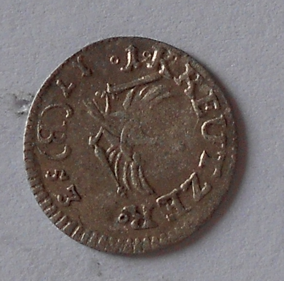 Prusko 1 Krejcar 1753 Fridrich