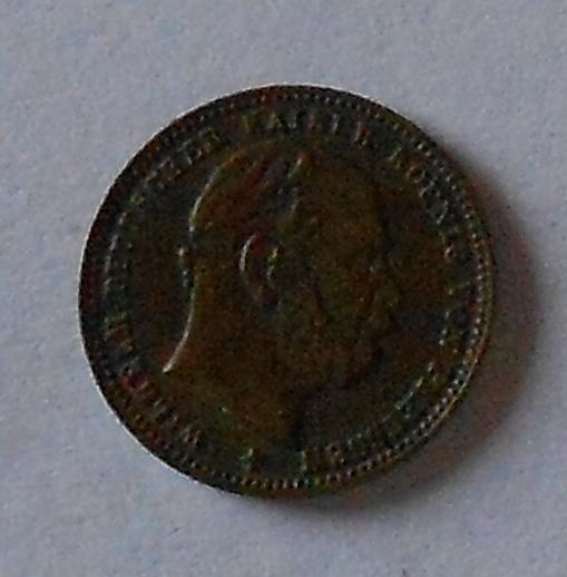 Prusko 10 March Vilém I. bronzová miniatura