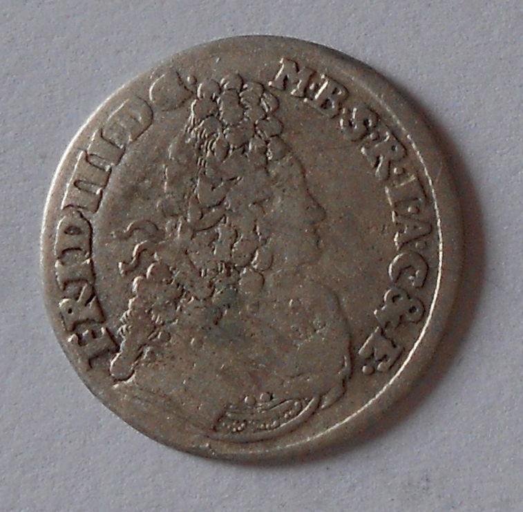 Prusko 3 Groš 1696 Fridrich
