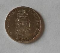 Rakousko 1/2 Lira 1822 M František II.