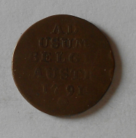 Rakousko 1 Liard 1791 Leopold II.