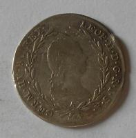 Rakousko 10 Krejcar 1791 A Leopold II.