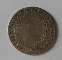 Rakousko – Gratz 10 Krejcar 1755 Karel VI.