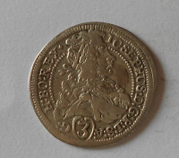 Rakousko – Gratz 3 Krejcar 1706 Josef I.