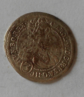Rakousko – Gratz 3 Krejcar 1713 Karel VI.