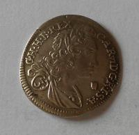 Rakousko – Gratz 3 Krejcar 1722 Karel VI.