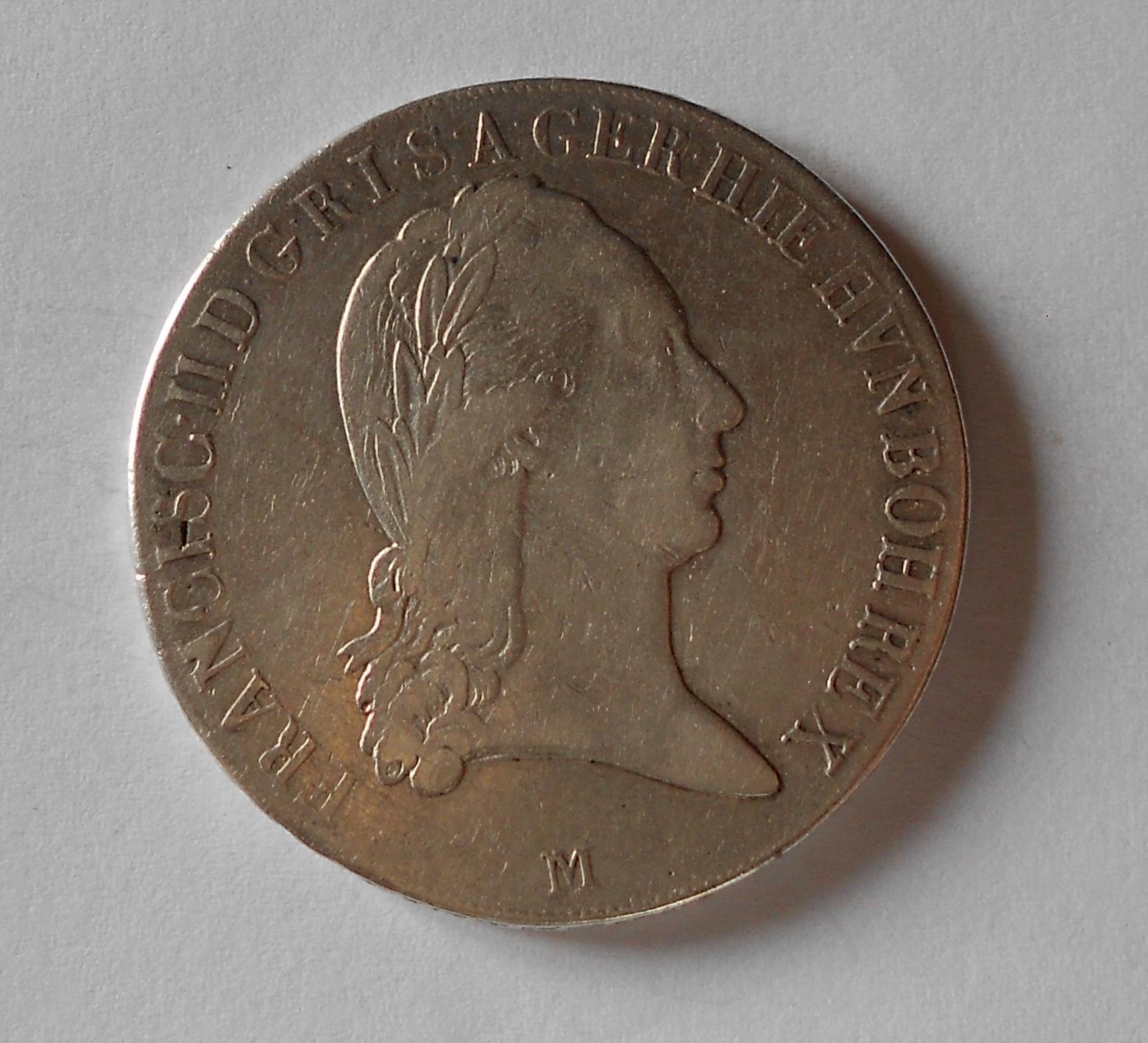 Rakousko Tolar křížový 1800 M František II.