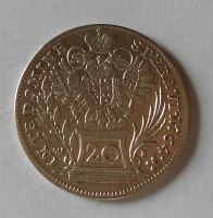 Rakousko – Vídeň 20 Krejcar 1764 František Lotrinský