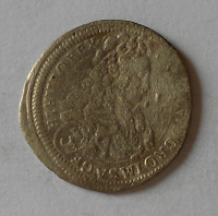 Rakousko – Vídeň 3 Krejcar 1717 Karel VI.