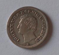 Sasko 1 Groš 1870 Johan V.