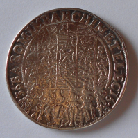 Sasko Tolar 1636 Jan Jiří, měl ouško