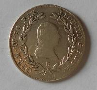 Uhry 20 Krejcar 1792 B Leopold II.