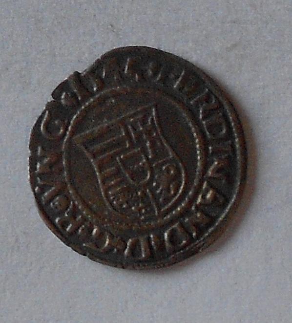 Uhry Denár 1544 KB Ferdinand I.