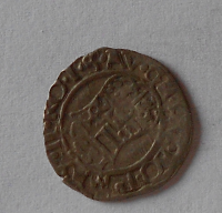 Uhry Denár 1573 KB Maxmilián II.