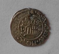 Uhry Denár 1576 KB Maxmilián II. dirka
