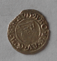 Uhry Denár 1591 Rudolf II.