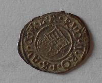 Uhry Denár 1595 KB Rudolf II.