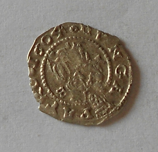 Uhry Denár 1605 Rudolf II.