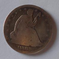 USA 1/2 Dolar 1868 S