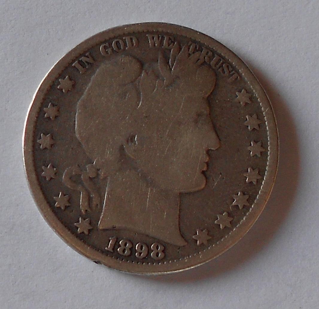 USA 1/2 Dolar 1898