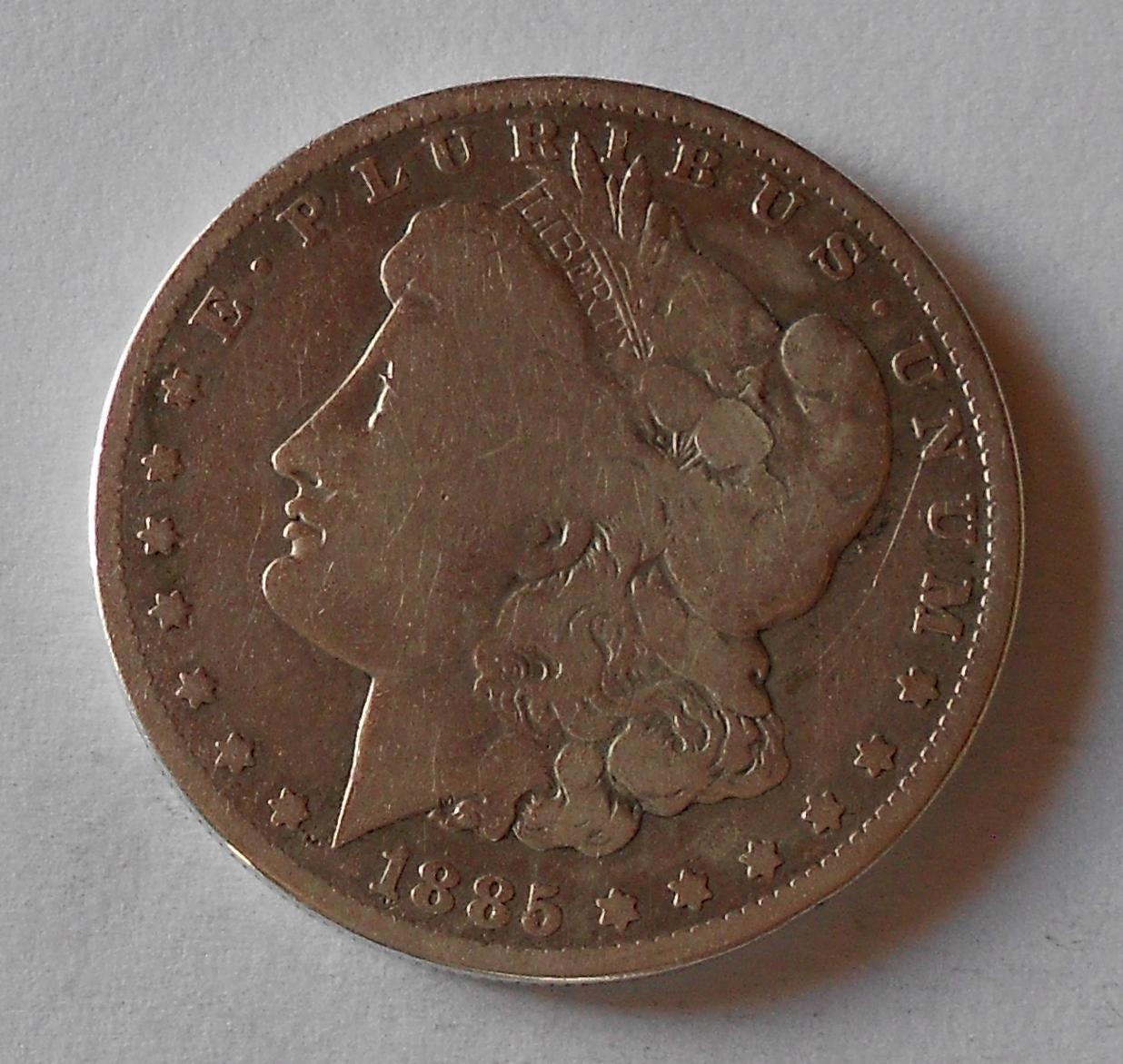 USA 1 Dolar 1885 O