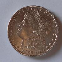 USA 1 Dolar 1886 stav
