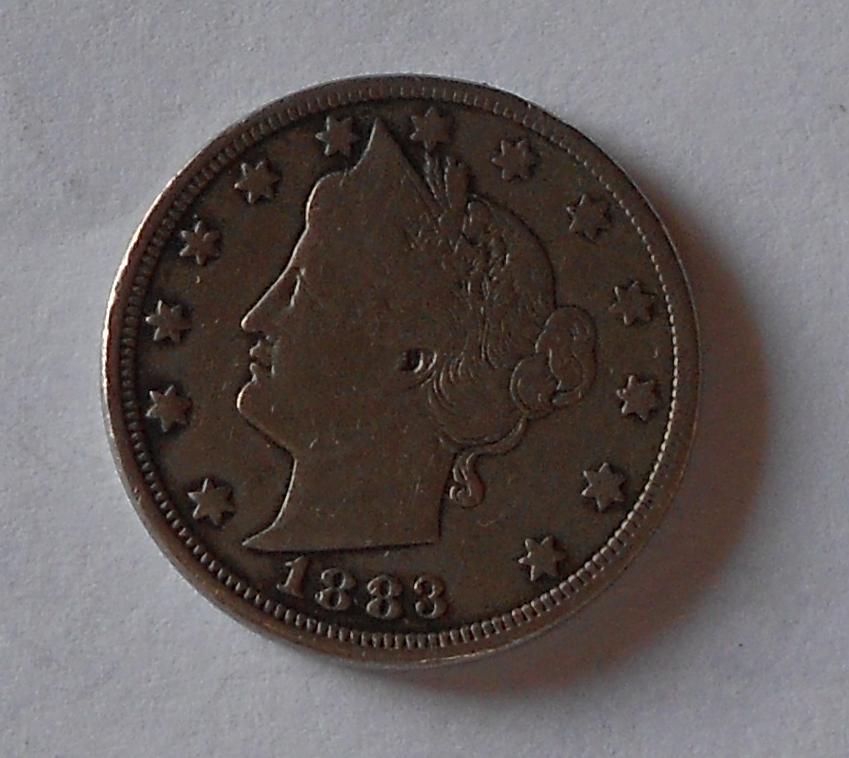 USA 5 Cent 1883