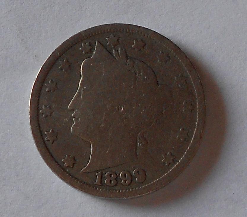 USA 5 Cent 1899