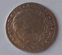 Würzburg 20 Krejcar 1765 Adam Fridrich