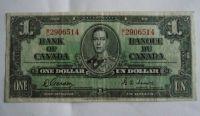 1 Dollar, Kanada, 1937