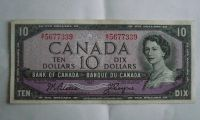 10 Dollar, Kanada, 1954