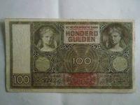 100 Gulden, Holandsko, 1944
