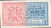 1K/1938-40/, stav 1+, série A 023, strojový přetisk
