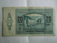 20 Frank, Lucembursko, 1929