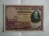 50 Peseta, Španělsko, 1928