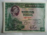 500 Peseta, Španělsko, 1928