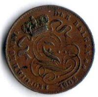 Belgie 1 Cent 1902