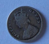 Brit. Indie 2 Anna 1875 Viktorie