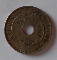 Brit. Východ. Afrika 1 Pence 1912