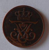 Dánsko 2 Öre 1909
