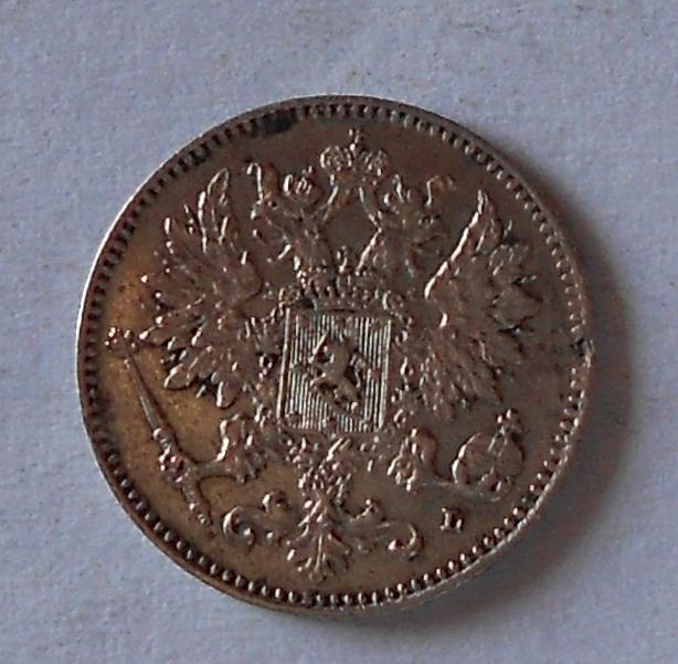 Finsko pod Ruskem 10 Penia 1901