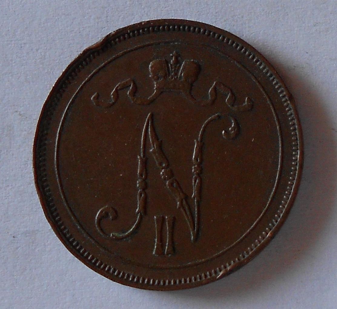 Finsko pod Ruskem 10 Penia 1914