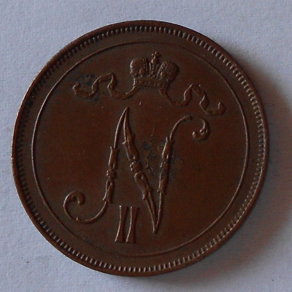 Finsko pod Ruskem 10 Penia 1915