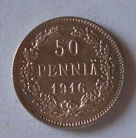 Finsko pod Ruskem 10 Penia 1916